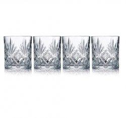 Lyngby Glass MELODIA Kryształowe Kieliszki do Wódki 50 ml 4 Szt.