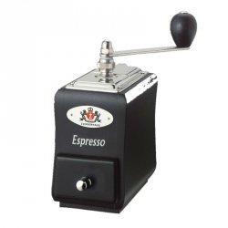 Zassenhaus SANTIAGO Młynek do Kawy - Czarny z Napisem Espresso