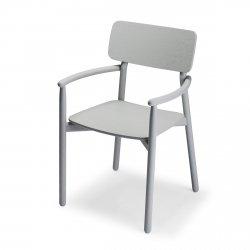 Skagerak HVEN Krzesło Dębowe - Szare