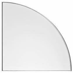 Aytm UNITY Lustro Ścienne 25 cm Srebrne
