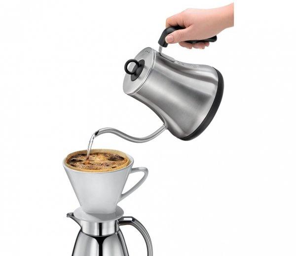 Cilio LUCCA Czajnik Elektryczny do Powolnego Zalewania Kawy