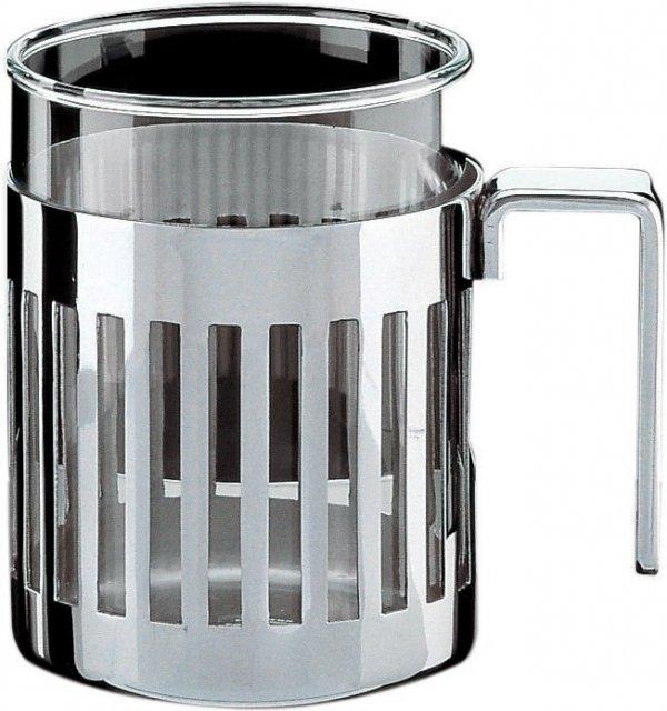 Alessi ARMUG Kubek - Szklanka z Koszyczkiem 350 ml