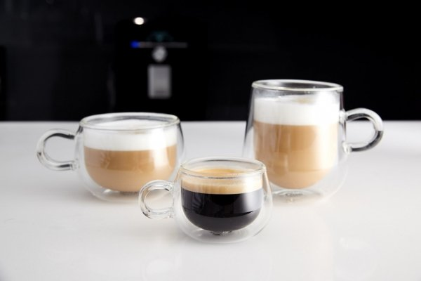 Judge THERMO Szklanki - Filiżanki Termiczne do Kawy Espresso 75 ml 2 Szt.