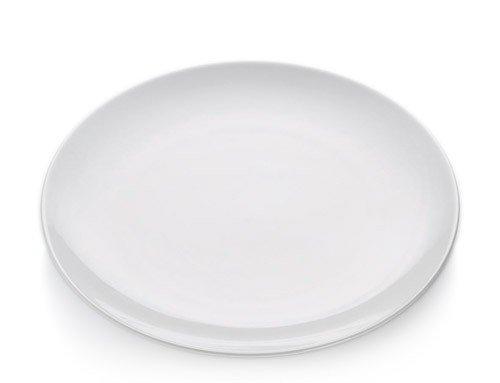 White Basics - Talerz Okrągły Płaski 27,5 cm