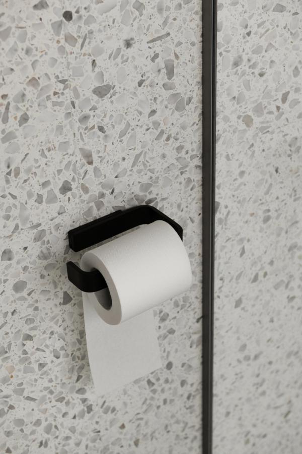 Menu BATH Uchwyt na Papier Toaletowy - Czarny