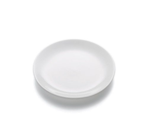 White Basics - Talerz Okrągły Płaski 19 cm