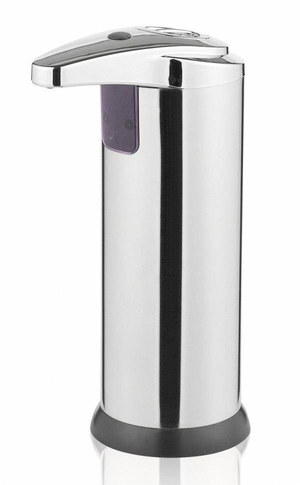 Funktion SENSE Automatyczny Dozownik do Mydła, Żelu, Płynu Antybakteryjnego z Sensorem - Srebrny Połysk