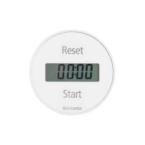 Brabantia Cyfrowy Minutnik Magnetyczny - Timer Biały