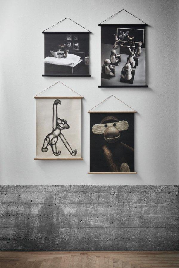 Kay Bojesen GALLERI Plakat 40x56 cm Małpka na Fotografii