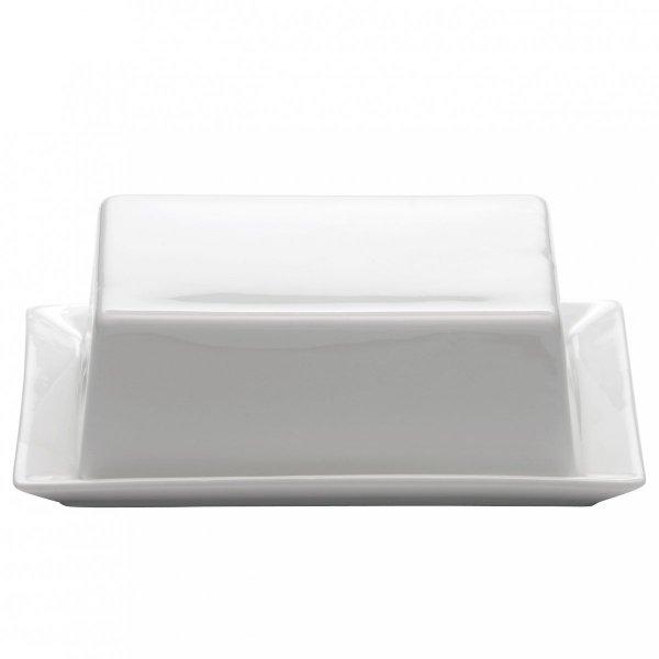 Maxwell Williams WHITE BASIC Maselniczka z Pokrywką 16 cm Biała