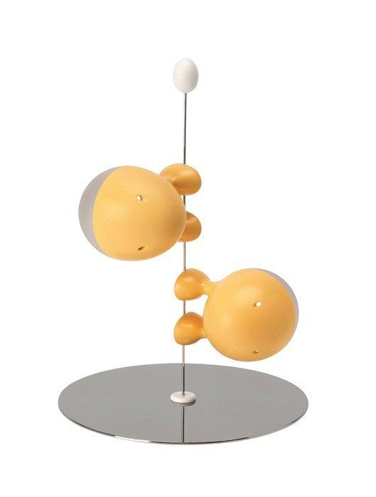 A di Alessi LILLIPUT Sweet Breakfast Solniczka i Pieprzniczka - Żółta