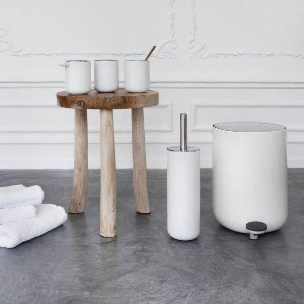 Menu BATH Ścienna Szczotka Toaletowa do WC - Biała
