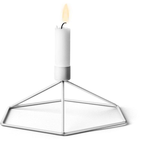Menu POV Świecznik Stołowy - Biały