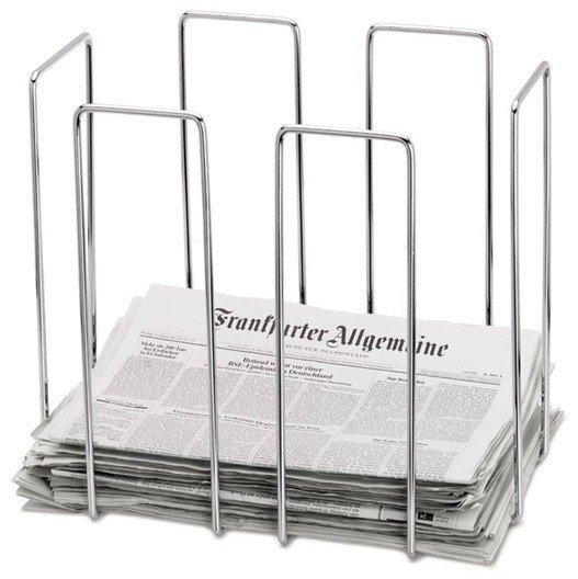 Blomus WIRES Gazetnik - Stojak na Magazyny, Katalogi, Czasopisma