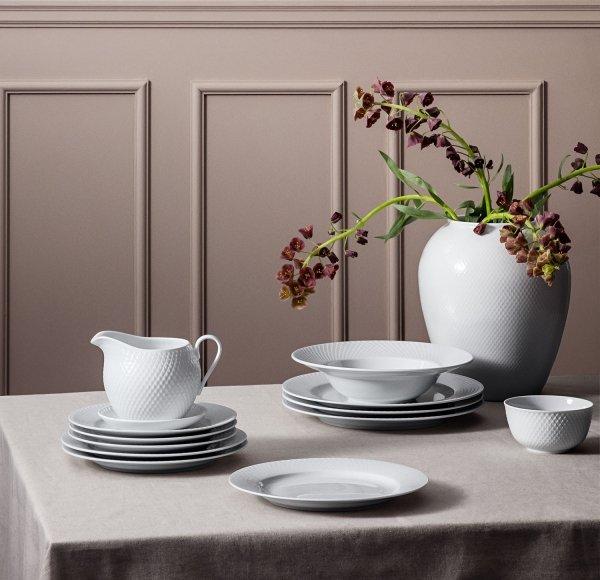 Lyngby Porcelain RHOMBE Talerz Płaski 23 cm