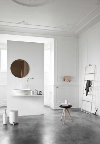 Menu BATH Reling Łazienkowy na Ręczniki - Biały
