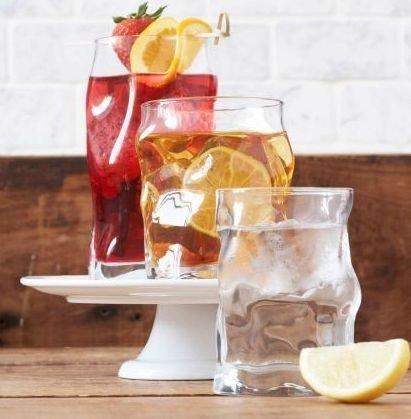 Bormioli Rocco SORGENTE Szklanki do Drinków i Whisky 300 ml