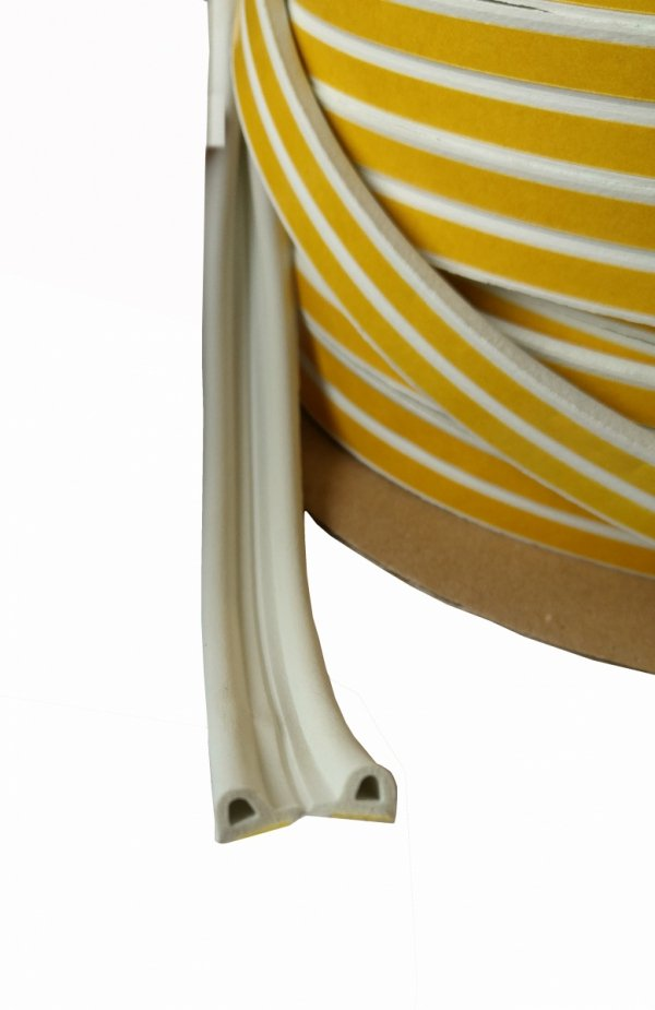 Uszczelka samoprzylepna Profil P biała 1mb STOMIL
