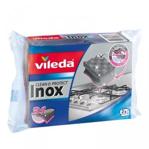 Vileda Inox Clean&Shine zmywak do naczyń