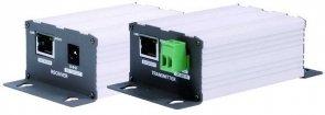 15-EOC01K - Extender, zestaw do transmisji sygnału ethernet po kablu koncentrycznym, zasięg do 180 metrów.