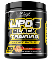 Nutrex Lipo 6 Black Training 30 serv