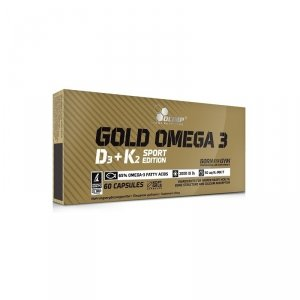Olimp Gold Omega 3 D3+K2 Sport Edition 60 caps