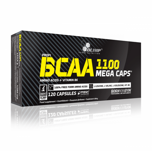 Olimp BCAA Mega Caps 120 capsuels