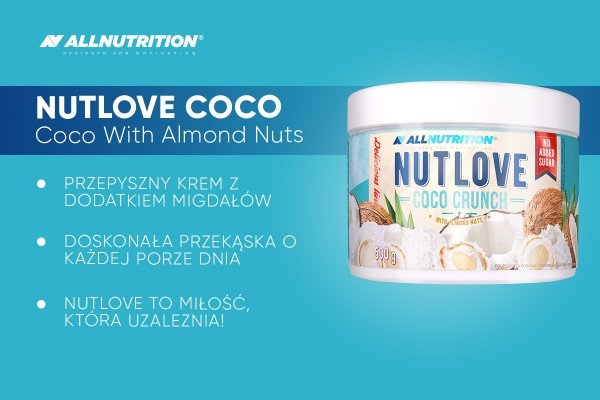 All Nutrition Nutlove Coco Crunch 500g