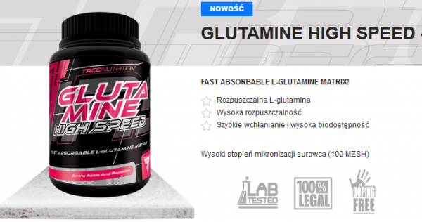 .Trec Glutamine High Speed 500g