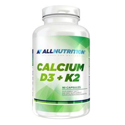 All Nutrition Calcium D3 + K2 90 caps