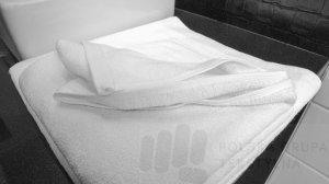 Ręcznik hotelowy Heavy Duty, frote, gładki, 500 g/m2, 80% bawełny / 20% poliester