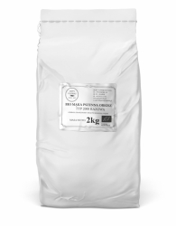 BIO Mąka Pszenna Orkiszowa typ 2000 - razowa - 2kg