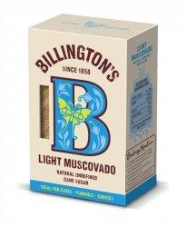 Billington's Light Muscovado (Cukier Trzcinowy Muscovado Jasny tzw. Barbados)  - 0,5kg