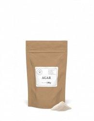 Agar (naturalna substancja żelująca poch. roślinnego) - 100g