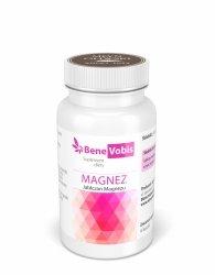 Bene Vobis - Magnez (jabłczan magnezu) - 60 kapsułek