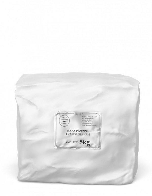 Mąka pszenna typ 1850 (graham) - 5kg
