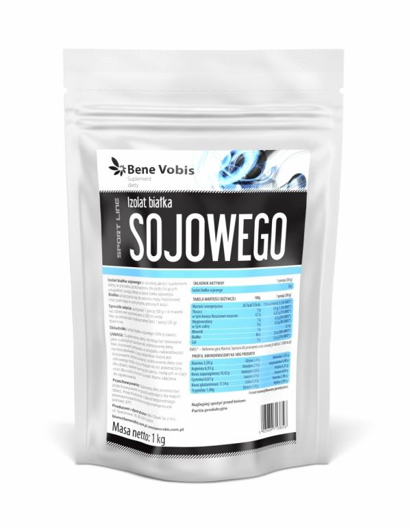 Białko sojowe - proszek - 1kg