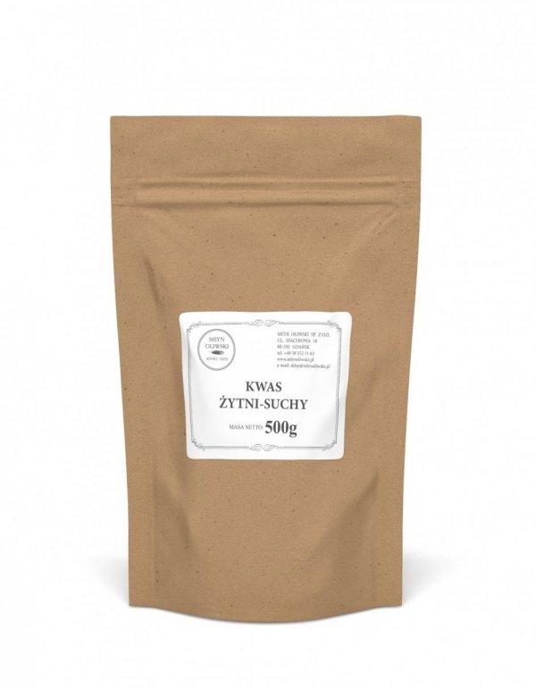 Kwas żytni - suchy (proszek) - 500g