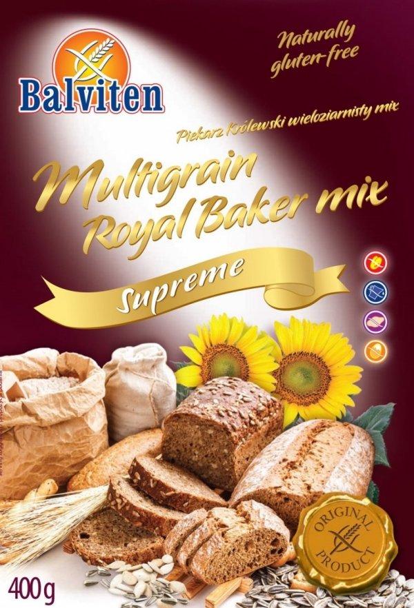 Mieszanka BEZGLUTENOWA do wypieku chleba wieloziarnistego