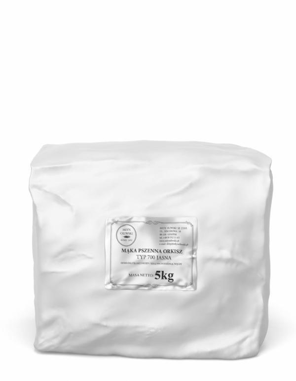 Mąka pszenna orkiszowa typ 700 (jasna) - 5kg