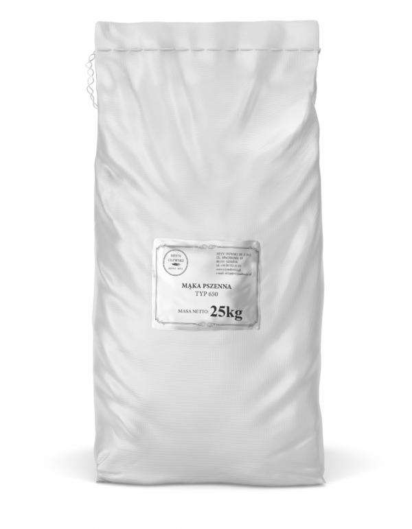 Mąka pszenna typ 650 - 25kg