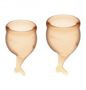 Feel Secure Menstrual Cup Set Orange