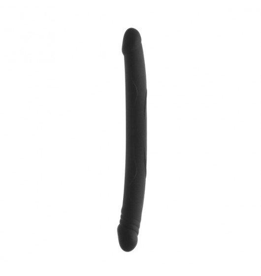 Podwójne dildo Marc Dorcel - Double Do, czarne