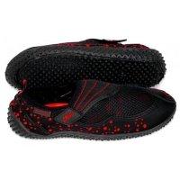 Obuwie Aqua Speed Shoe Model 15C czarny-czerwony