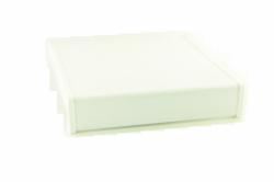 Parapet wewnętrzny plastikowy PCV biały 250mm 1mb