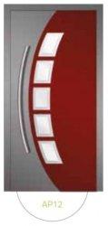 Drzwi wejściowe zewnętrzne Aluprof MB86 wzór AP12