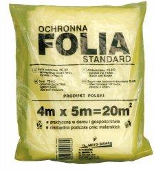 Folia malarska ochronna zabezpieczająca 4x5m 09462