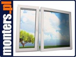 Okno PCV 1720x1590 EKOSUN UR+R niesymetryczne