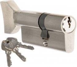 Wkładka z gałką CAM EKO 30/35 G nikiel zamka drzwi