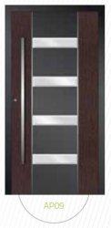 Drzwi wejściowe zewnętrzne Aluprof MB86 wzór AP09